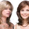 Красивые прически и стрижки для круглого лица на средние волосы (фото-обзор)