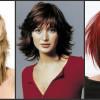 Стильные ассиметричные стрижки на средние волосы (21 фото)