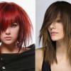 Красивые рваные стрижки на средние волосы: фото вариантов