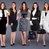 Офисный стиль одежды для девушек 2015 — фото костюмов