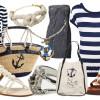 Морской стиль в одежде 2015