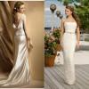 Модное свадебное платье цвета айвори: стильные фасоны с фото