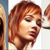 Яркое мелирование на рыжие волосы (Фото)