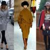 Роскошное пальто свободного кроя — фото фасонов, с чем носить модели
