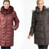 Модные куртки и пуховики для полных женщин (Фото)
