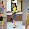 С чем сочетается серый цвет в офисной и повседневной одежде