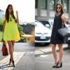 С чем носить платья-трапеция: фото и цвета