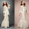 Модные свадебные платья в стиле «бохо»