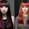 Модная покраска волос в стиле «гранж»
