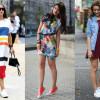 Как правильно носить кеды под платье (30 фото)