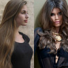 Ореховый цвет волос: фото, палитра, краски