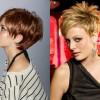 Красивая стрижка «пикси» на короткие волосы для женщин за 40 лет