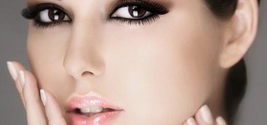 макияж для карих глаз для брюнеток