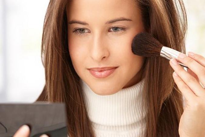 макияж самой себе