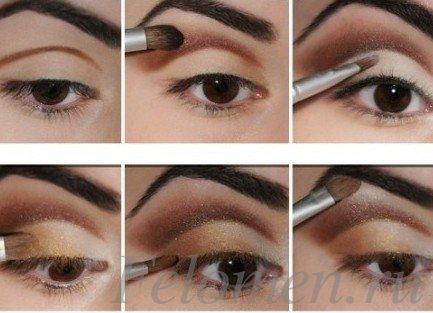 естественный макияж глаз_01