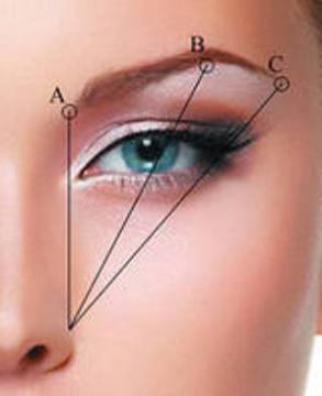 форма брови для круглого лица