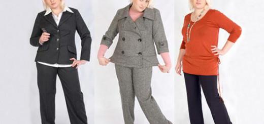 женские модные брюки осень 2014 для полных