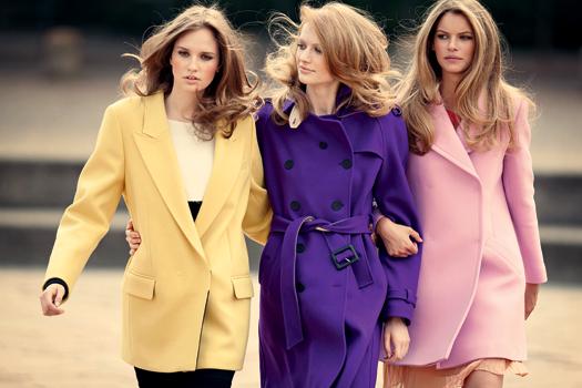 женское пальто осень 2014 фото