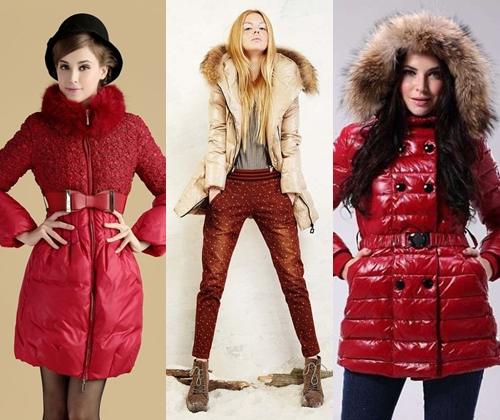 модные пуховики зима 2015