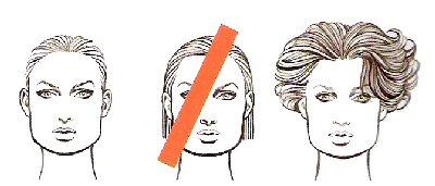 прически для квадратного типа лица