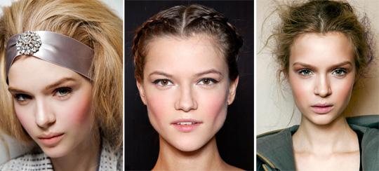 румяна макияж осень 2014