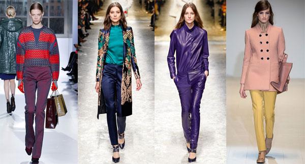 модные брюки осень 2014 женские