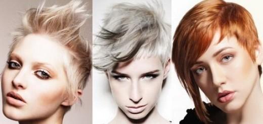 ассиметричные стрижки на короткие волосы фото
