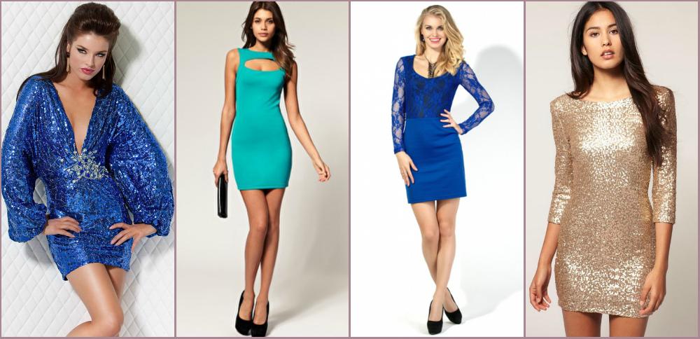 Короткие модели платьев фото