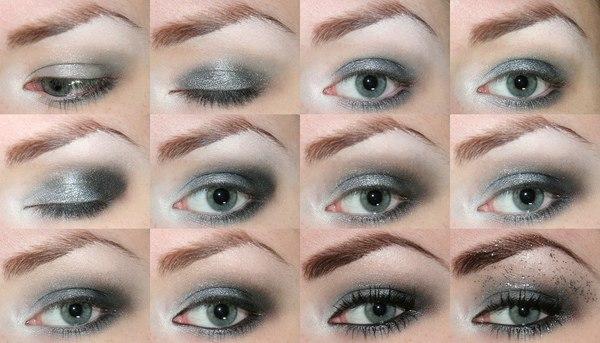 пэтапный макияж