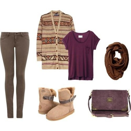 фото подборка стильного сочетания одежды
