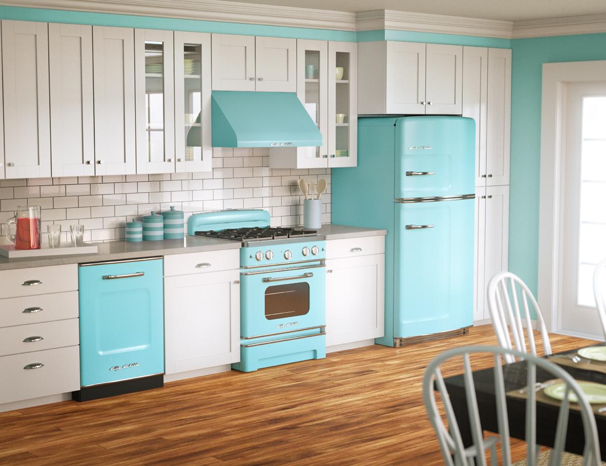 Кухня стиле ретро как обустроить интерьер под старину