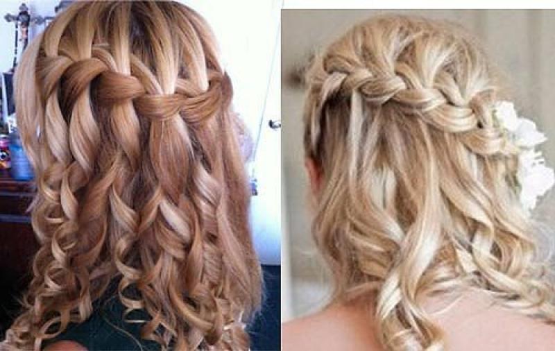 Прическа своими руками на накрученные волосы