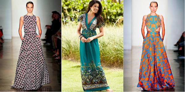 Длинные летние платья и сарафаны | Женский журнал EVEDRESS