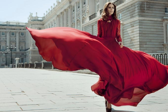 красные платья 2015 фото