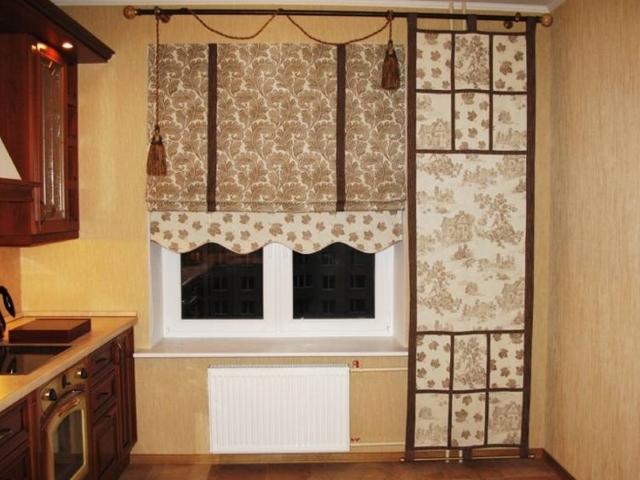 красивые римские шторы для кухни фото интерьеров феломена