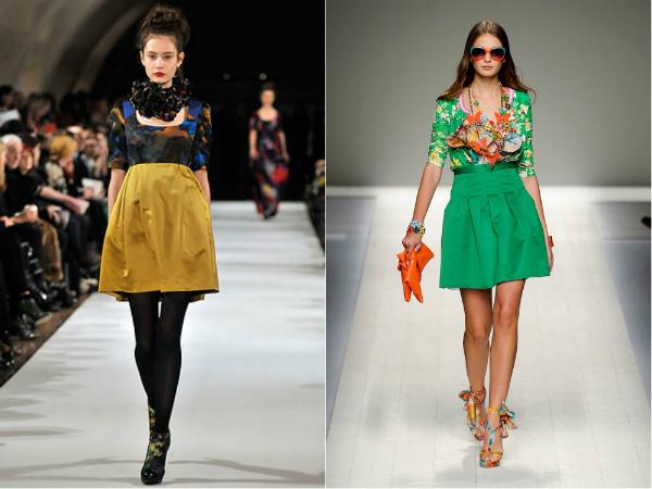 модные юбки 2015 года фото