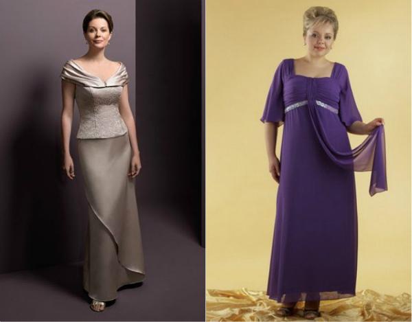 Платье для невесты за 50 лет