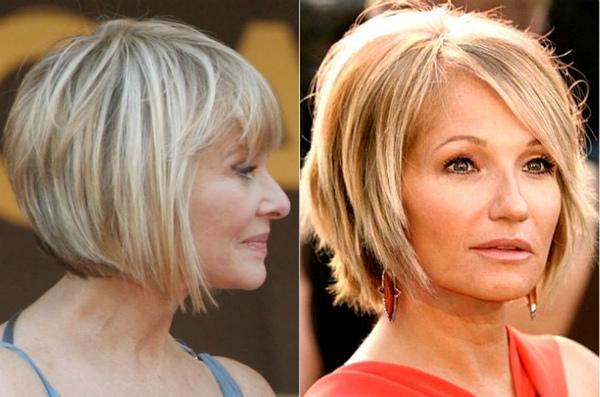 причёски для женщин после 40 лет фото