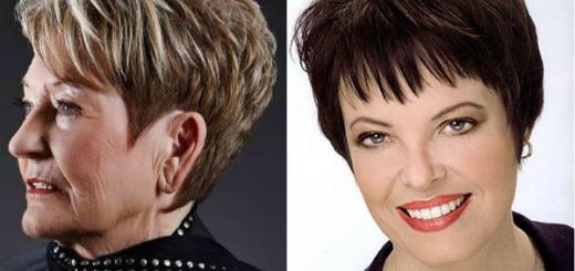 причёски для женщин после 50 лет фото