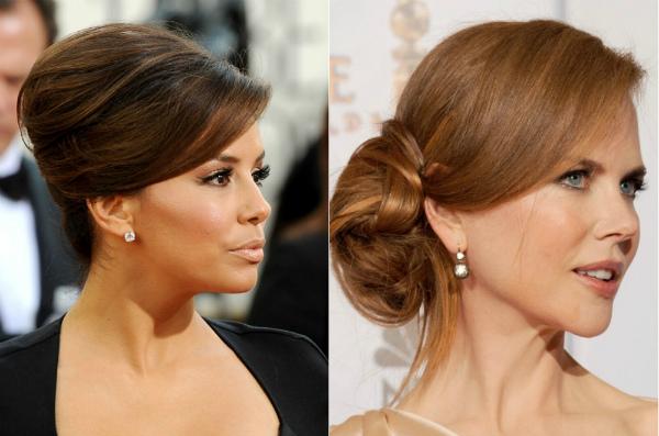 Причёска на длинные волосы для женщины 50 лет