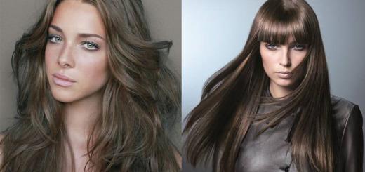 лесной орех цвет волос фото