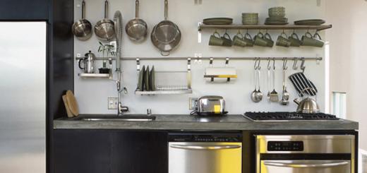 рейлинги для кухни как расположить