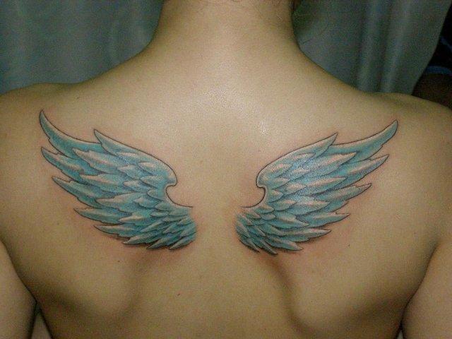 картинки тату крылья ангела