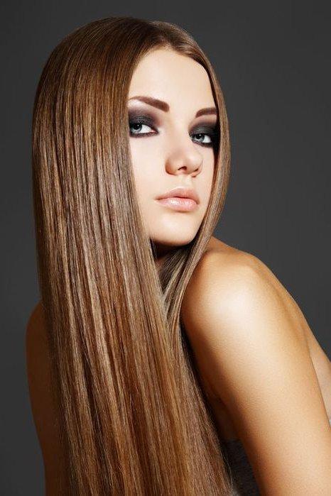 Цвет волос молочная карамель