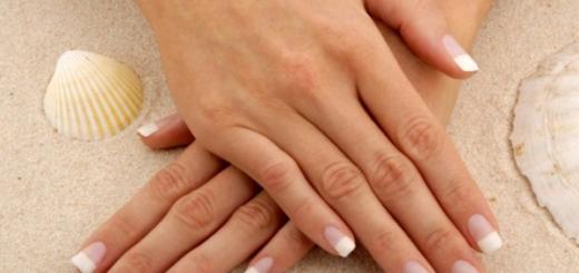 жёлтые ногти на руках причины