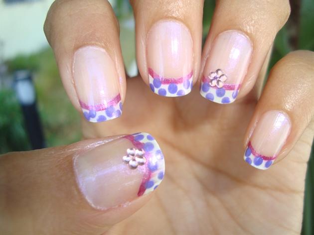 Фото маникюра на закругленные ногти