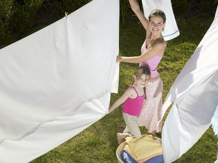 Отбелить капроновую тюль в домашних условиях