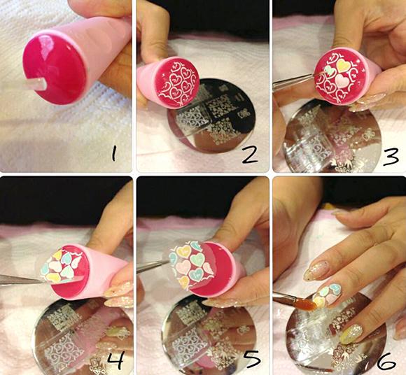 Штамп для ногтей своими руками 71