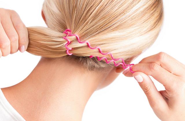 резинки спиральки для волос