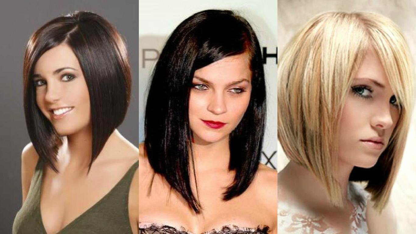 Модные прически женские на средние волосы
